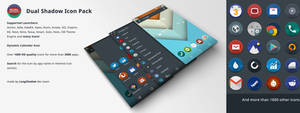Dual Shadow Icon Pack