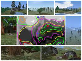 Feralheart forest map