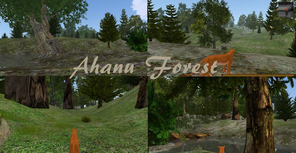 Ahanu Forest - private map