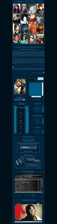 Myspace Blue Quadratics