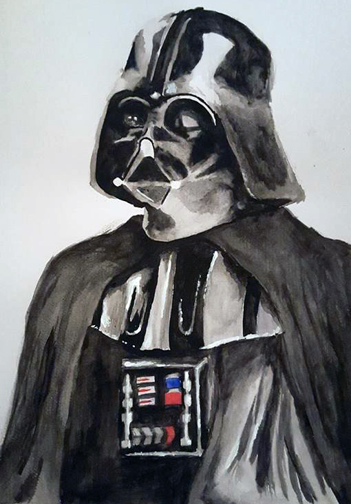 Darth Vader - Watercolor by Fenceclimber on DeviantArt