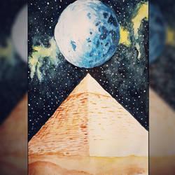 Nebula Pyramid by Fenceclimber