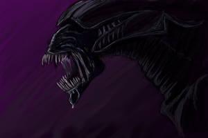 Alien Queen by arvalis