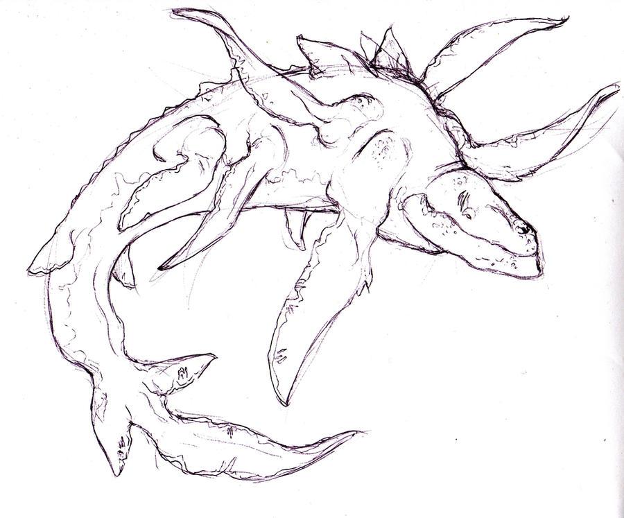 leviathan drawing Gallery