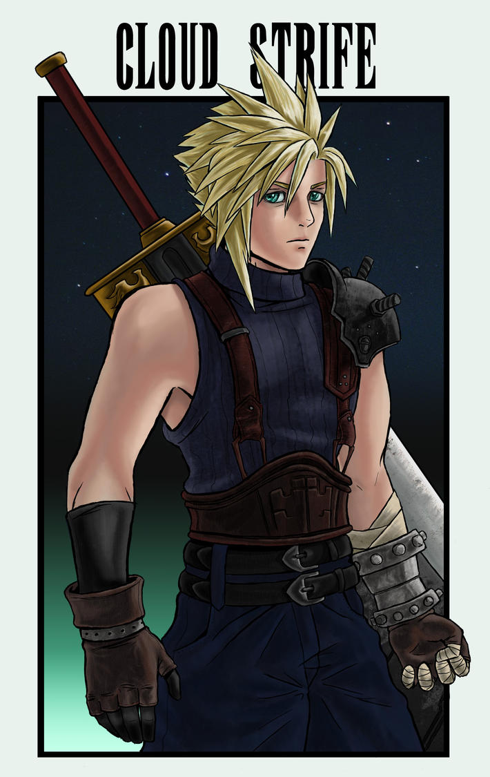 FFVII Cards-Cloud Strife by arvalis