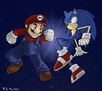 Brawl: Sonic vs. Mario