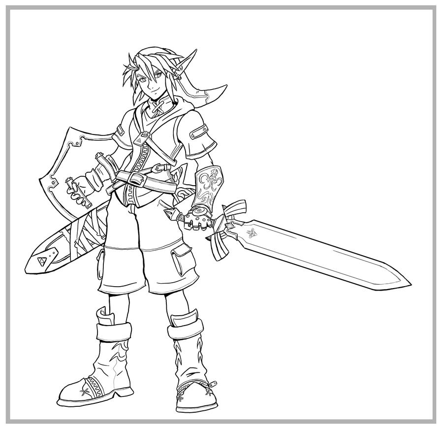 Kingdom Hearts-Link LINES by arvalis
