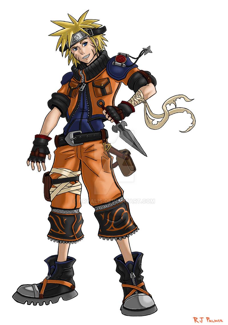 Kingdom Hearts-Naruto Colors