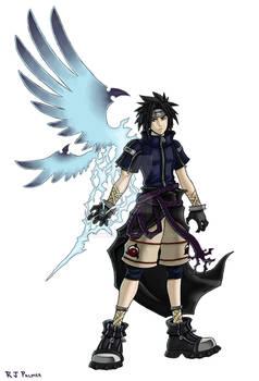 Kingdom Hearts-Sasuke Colors