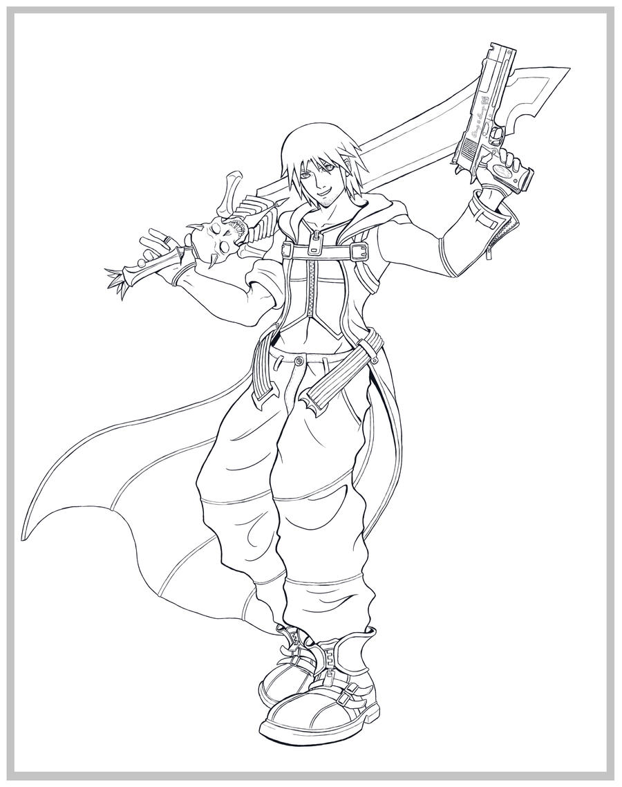 devil may cry coloring pages - photo#28