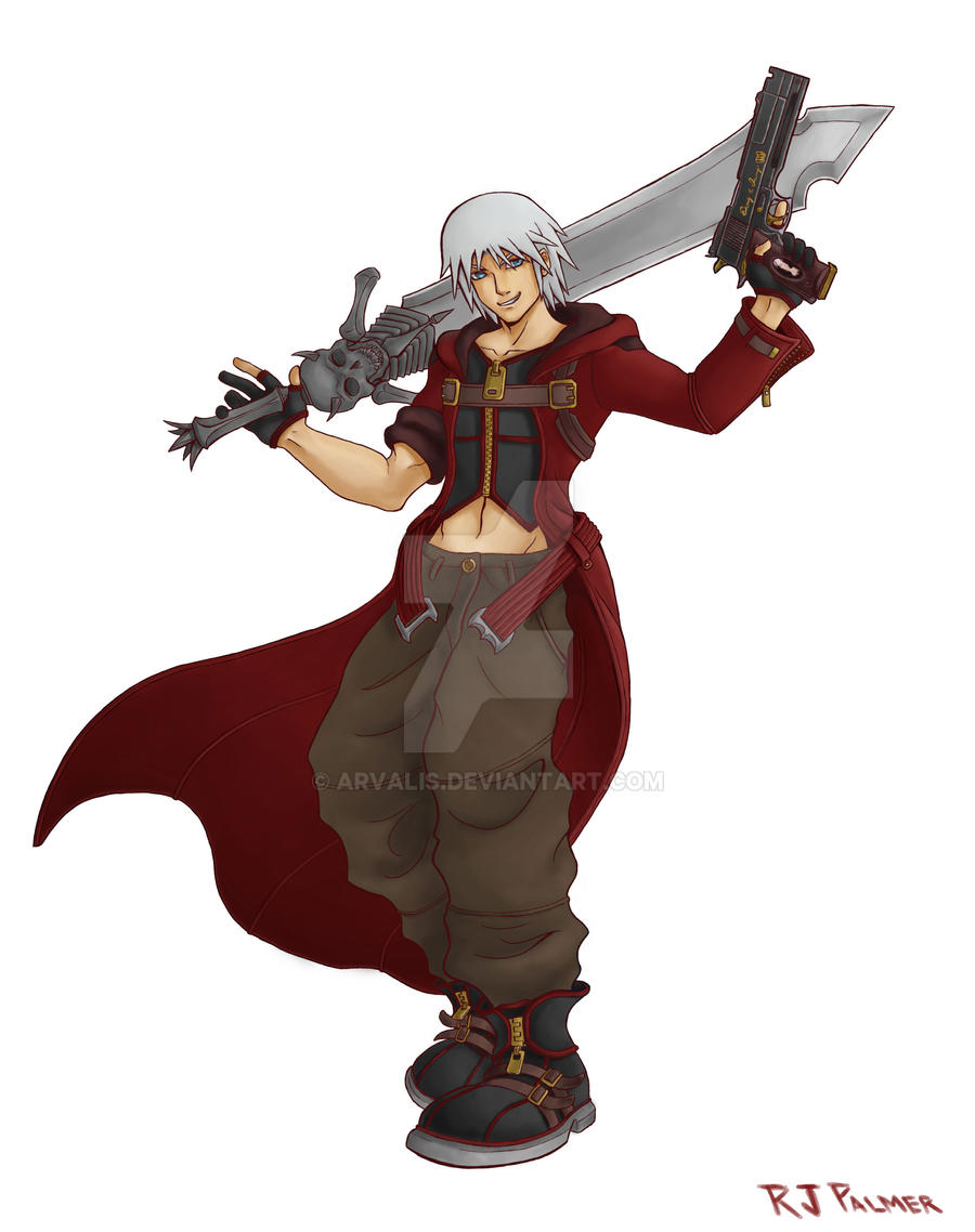 Kingdom Hearts-Dante Colors by arvalis
