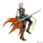 Kingdom Hearts-Vergil Colors