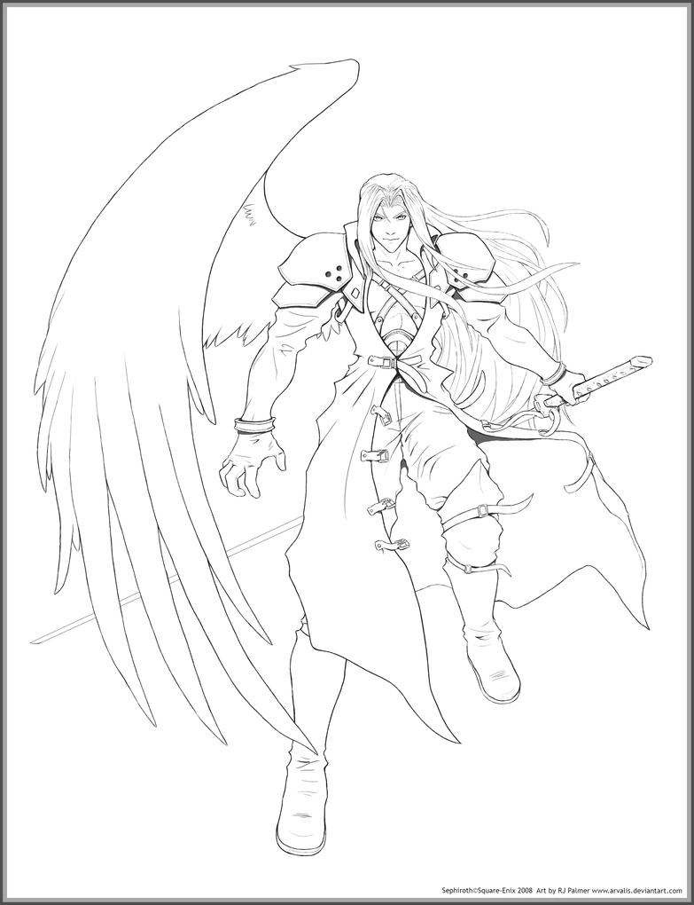 ffvii devotion lines by arvalis on deviantart