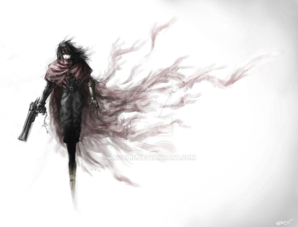 Vincent Valentine Empty By Arvalis ...