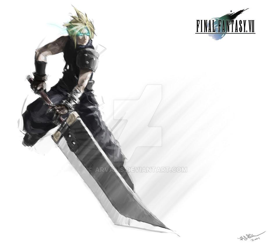 Final Fantasy Cloud Strife Wallpaper: Cloud Strife-Unleashed By Arvalis On DeviantArt