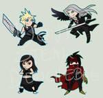 Final Fantasy 7-Chibis