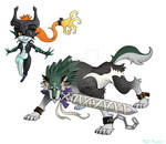 KH-Midna and Wolf Link
