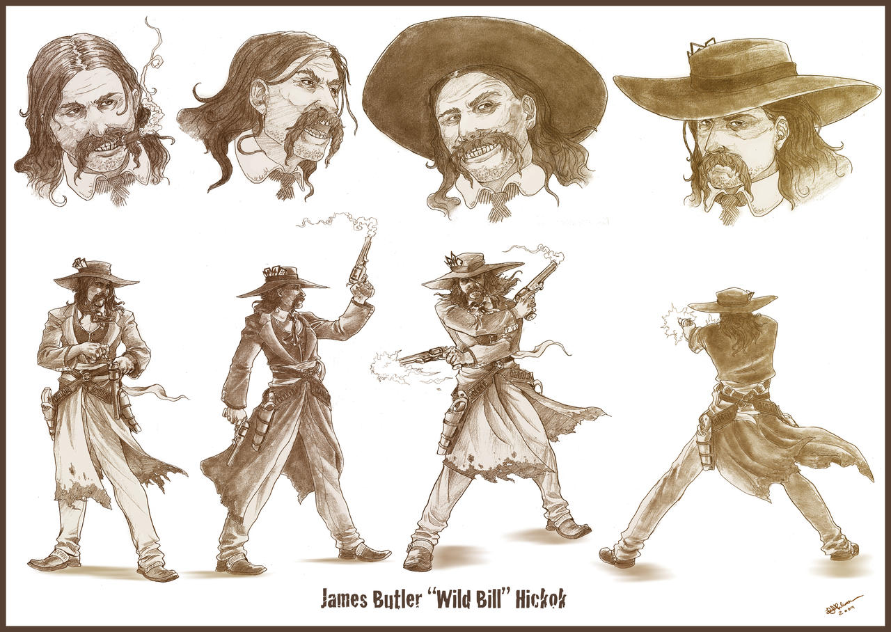 Wild Bill Hickok by arvalis