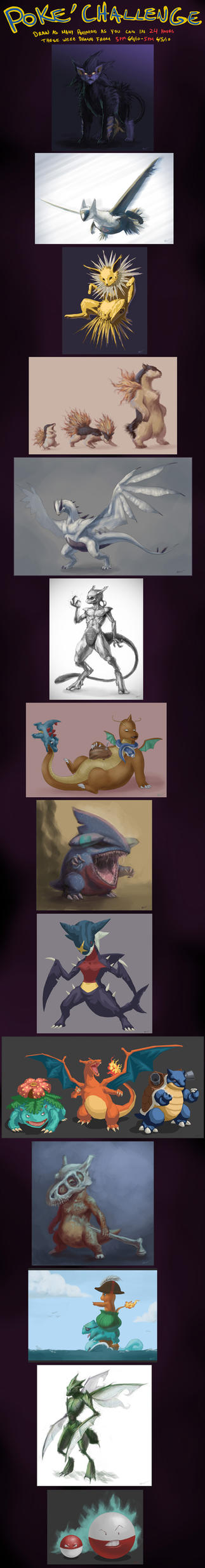 Poke'Challenge by arvalis