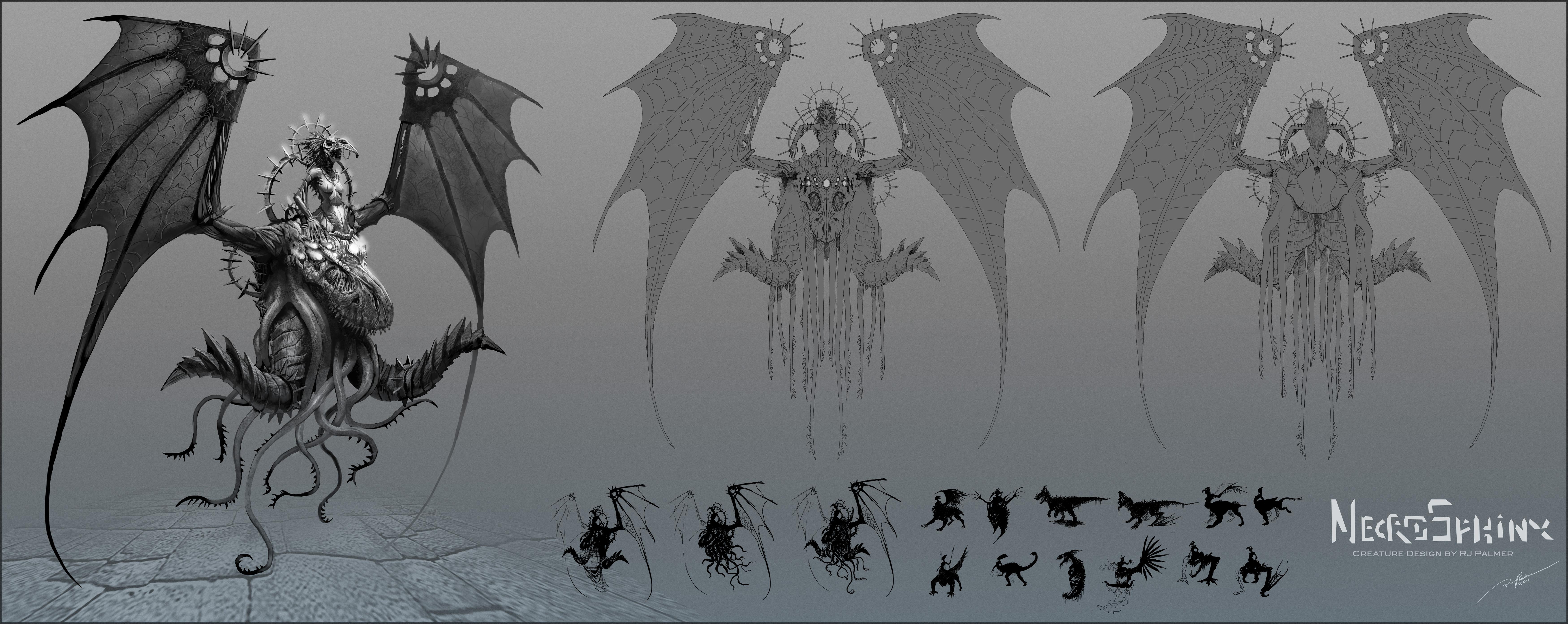 NecroSphinx by arvalis