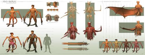 Ryu-Baeroc Species Design Sheet by arvalis