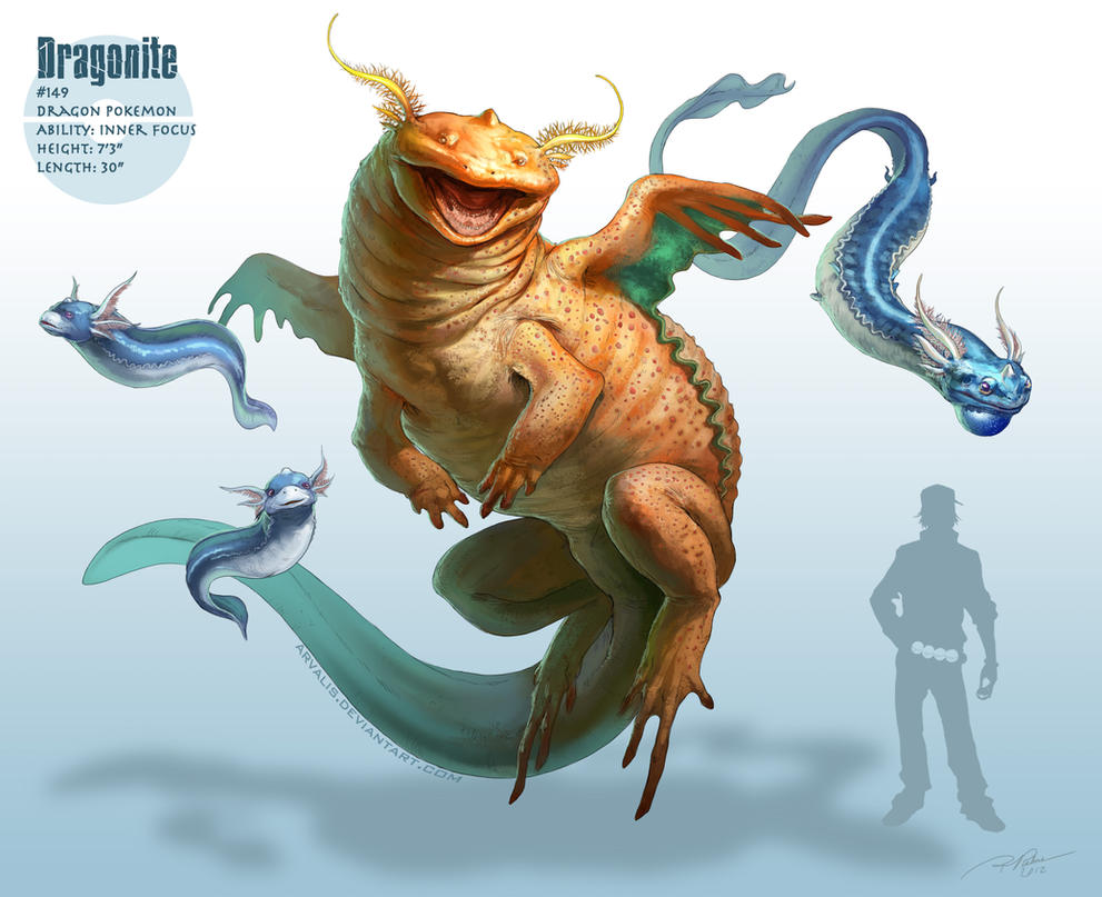 -Dragonite- by arvalis