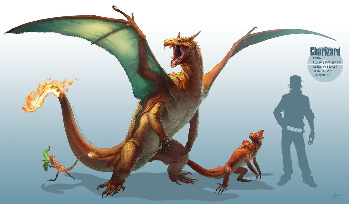 Alternate Art _charizard__by_arvalis-d5hh5md