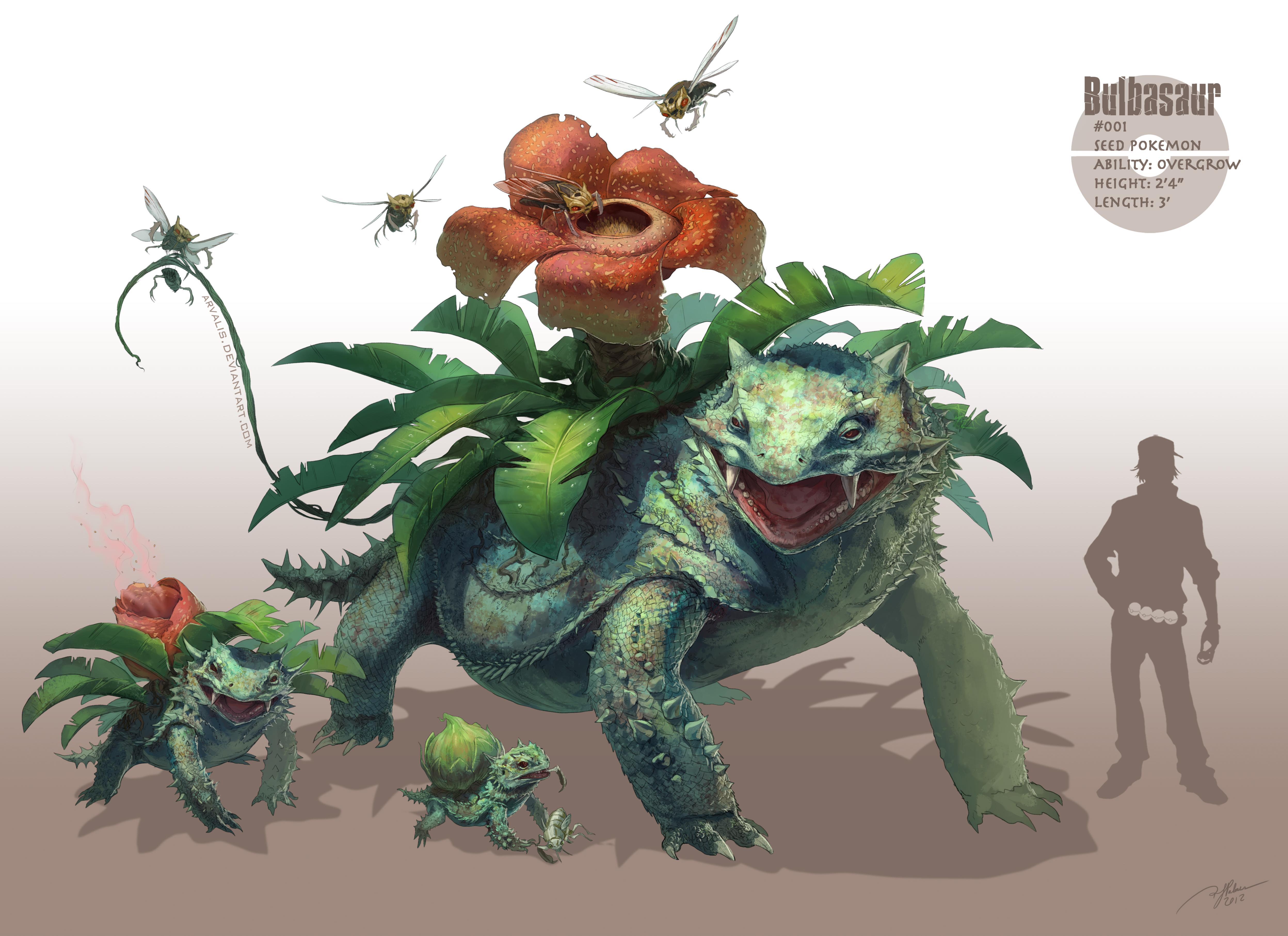 -Bulbasaur- by arvalis