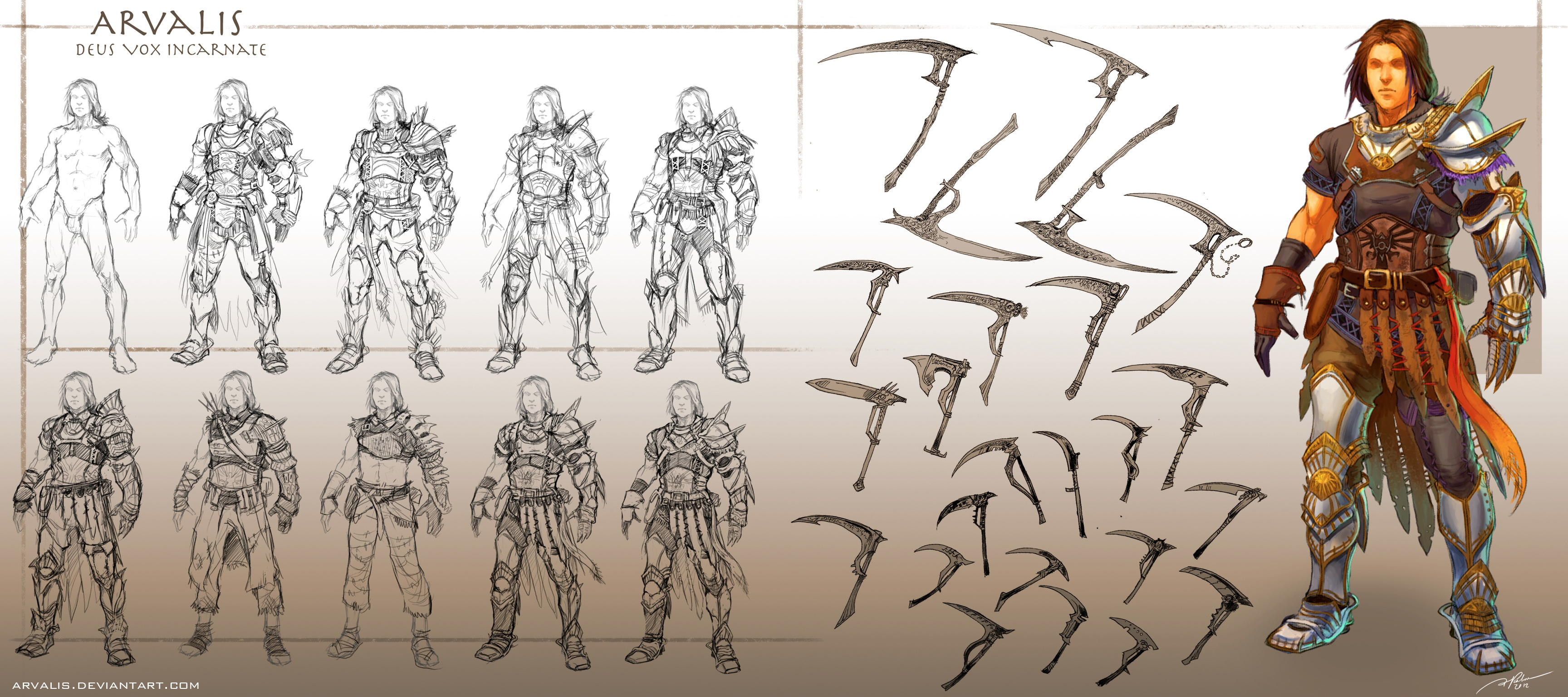 Anime Character Design Process : Character design an introduction by elephantwendigo on