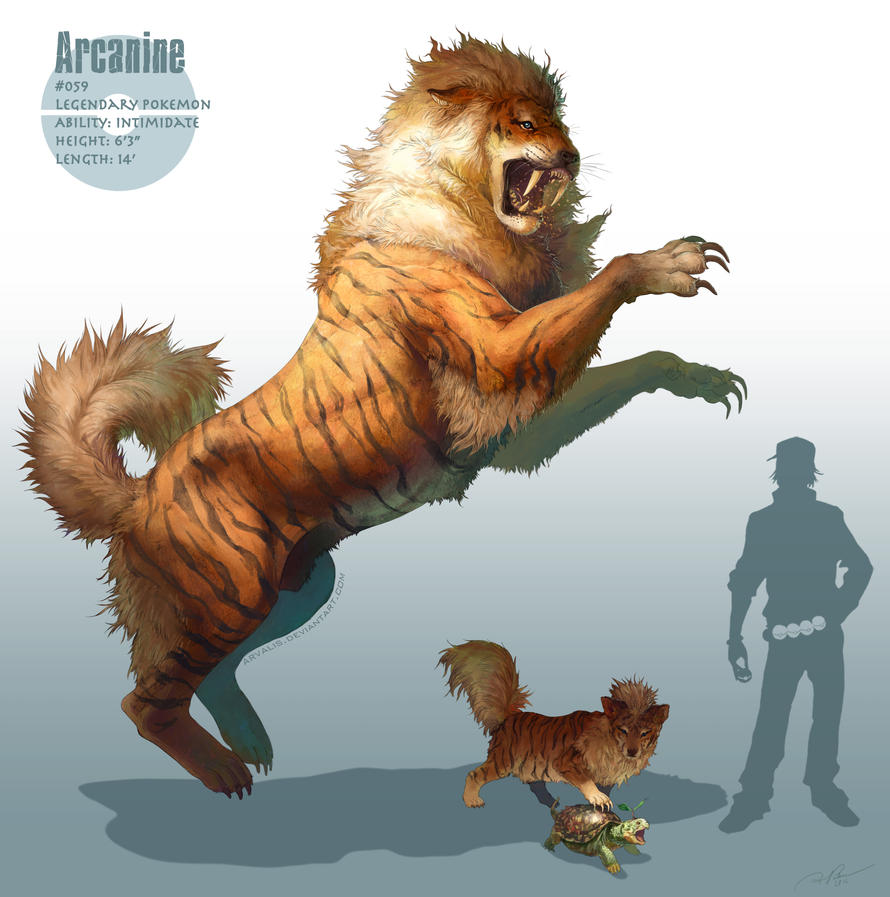 Just awesome Pokémon stuff _arcanine__by_arvalis-d5oz5iy