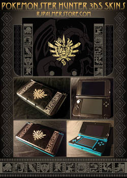 Pokemonster Hunter 3DS Skins