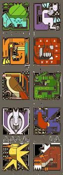 Pokemonster Hunter Icons