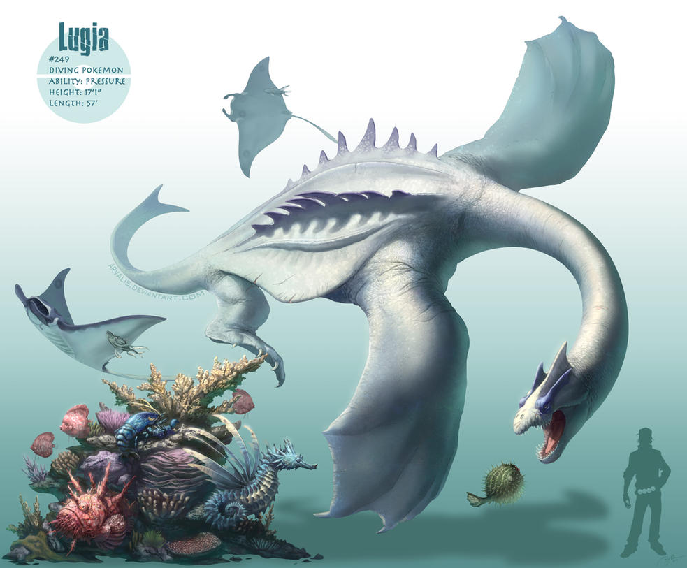 Lugia By Arvalis On Deviantart