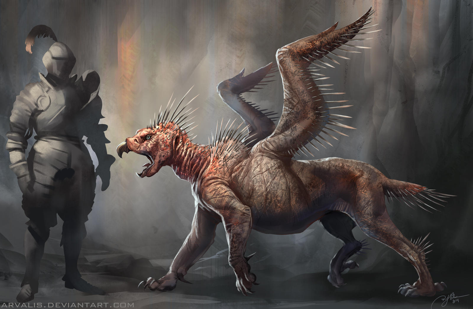 Pit griffin by arvalis on deviantart for The griffin
