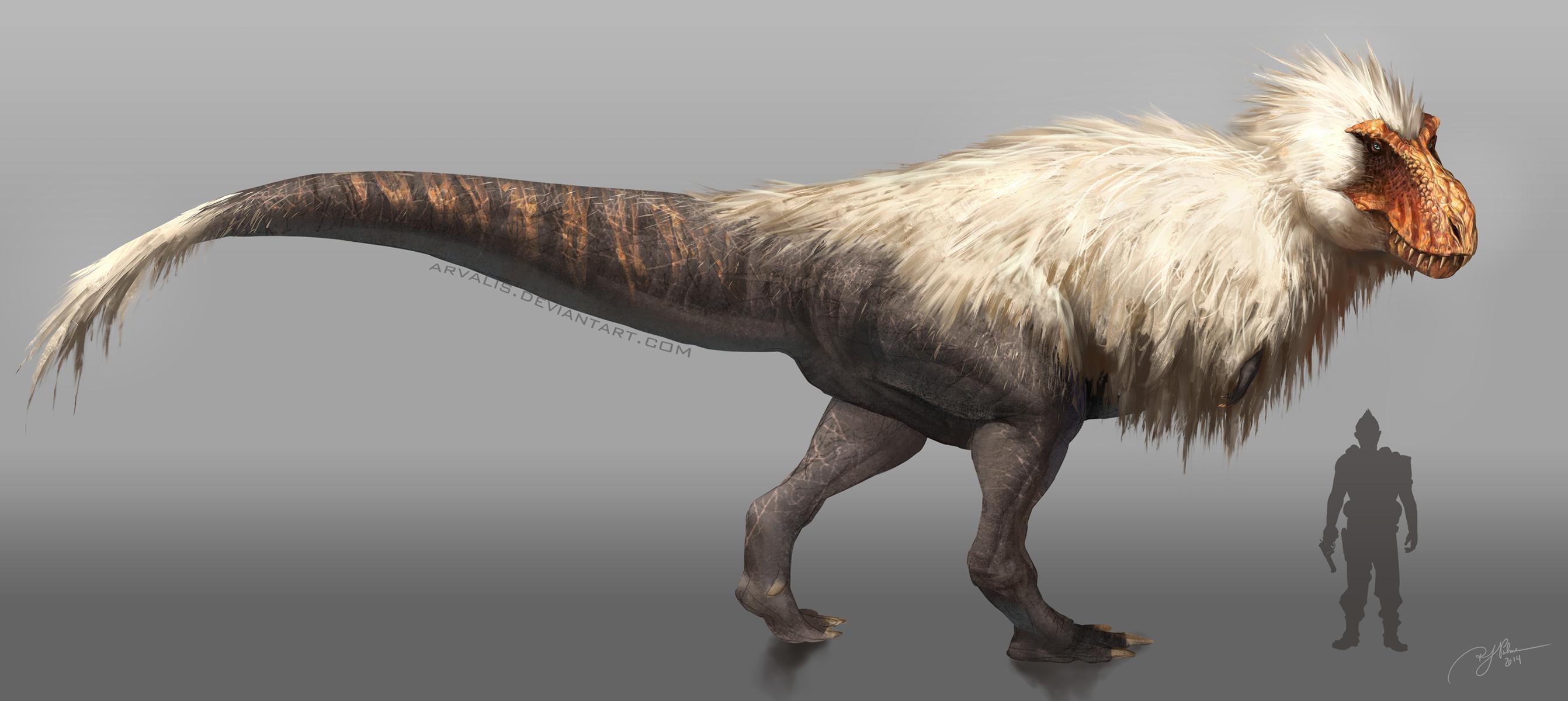 Fluffy rex by arvalis on deviantart for Tyranosaurus rex