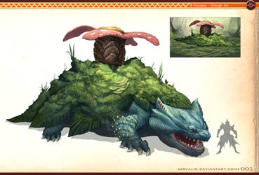 Pokemonster Hunter-Venusaur by arvalis