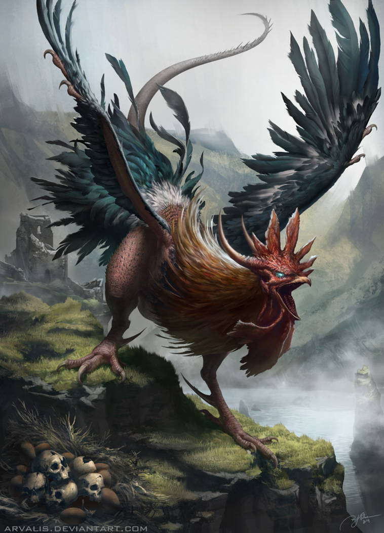 Sir Billy the Cockatrice by arvalis