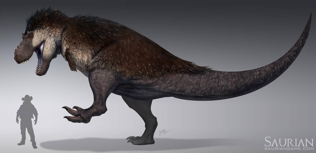 Saurian-Tyrannosaurus rex by arvalis