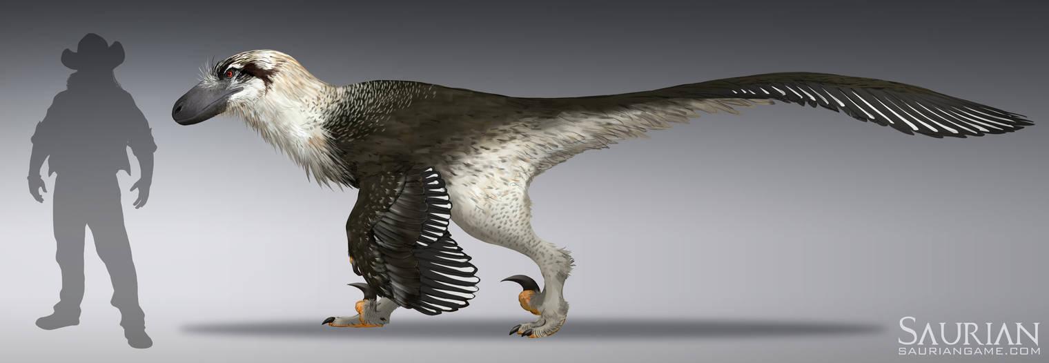 Saurian-Dakotaraptor