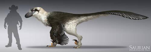 Saurian-Dakotaraptor by arvalis