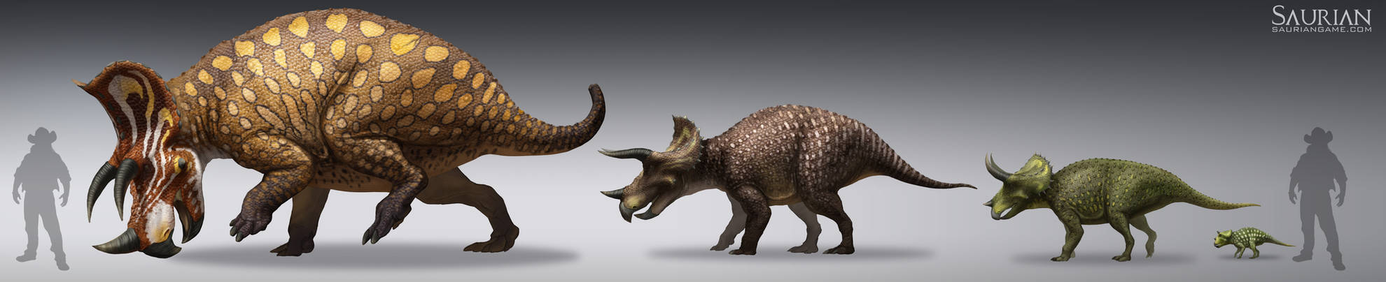 Saurian-Triceratops Lifecycle