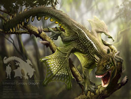 Emerald Canopy Dragon