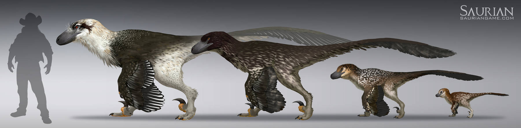 Dakotaraptor Growth Cycle