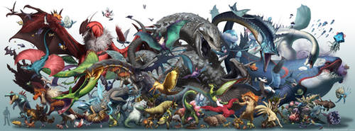 Realistic Pokemon-Season 2 by arvalis