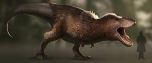 Tyrannosaurus rex-2016 by arvalis