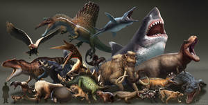 Dinosaurs vs. Beasts