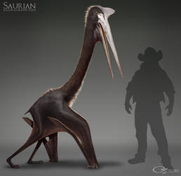 Saurian-Quetzalcoatlus Update