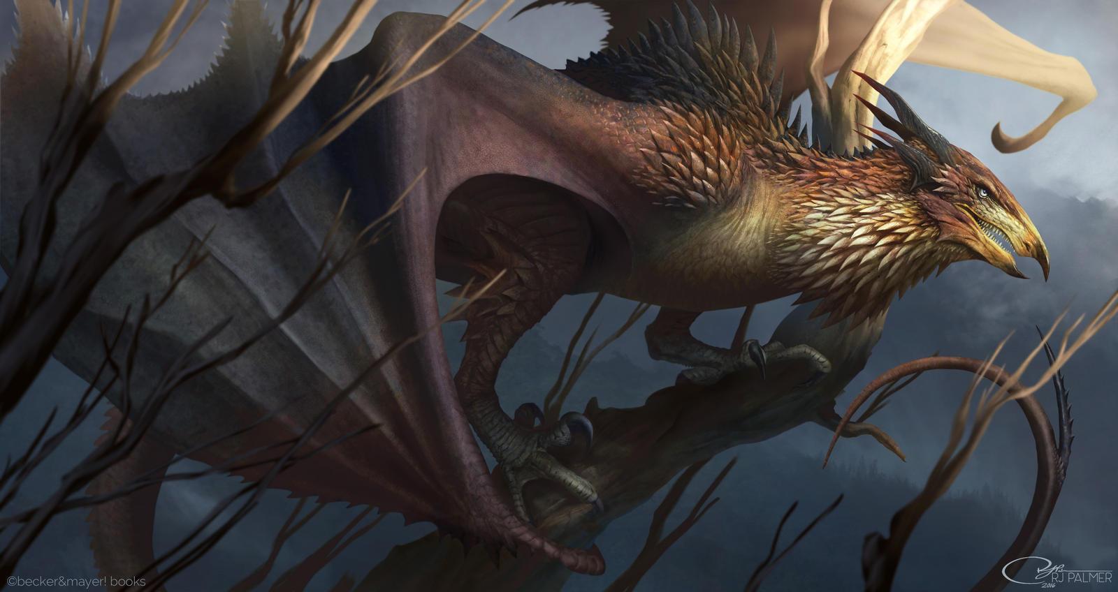 Wyvern Dragon: Wyvern By Arvalis On DeviantArt
