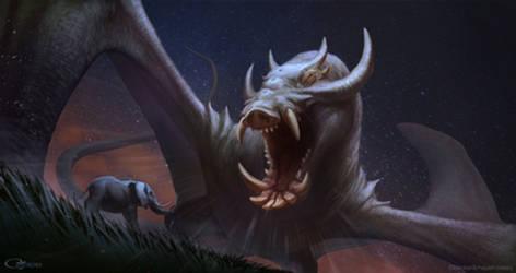 Ethiopian Dragon by arvalis