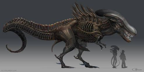 Alien T. rex